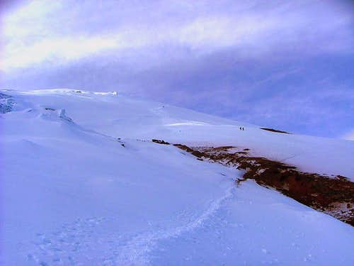 Cotopaxi, Normal Route. Views. May 2006