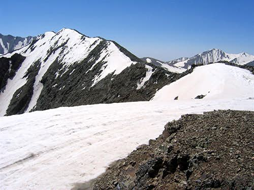 Summit from the west