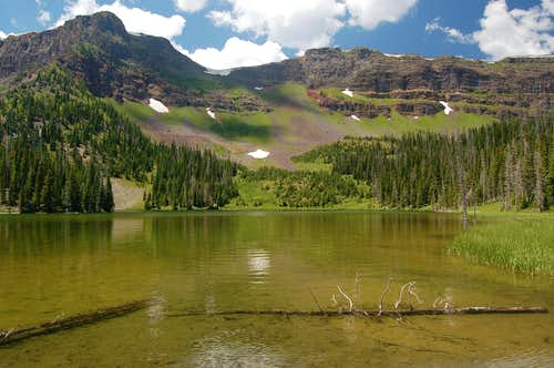 Slide Mandall Lake, Flat Tops Wilderness