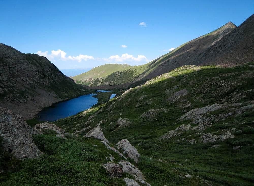 Wild Cherry Lake & Mount Owen