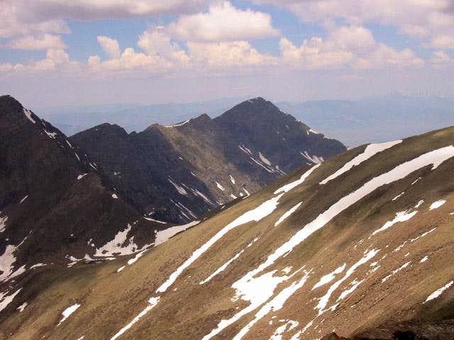 A dark Mount Owen from the...