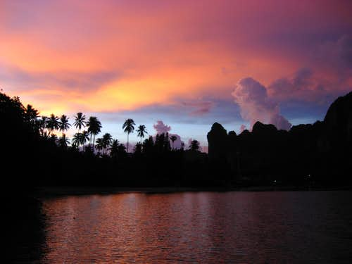 Sunset, Railay