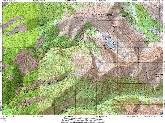 Mount Owen's Routes from Wild...