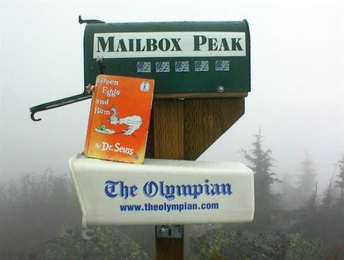 The Summit Register with the...