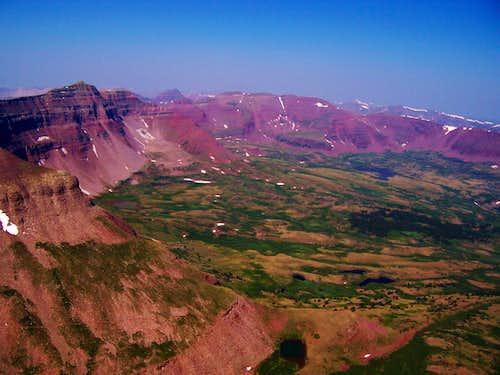 Henrys Fork Peak & Uintas