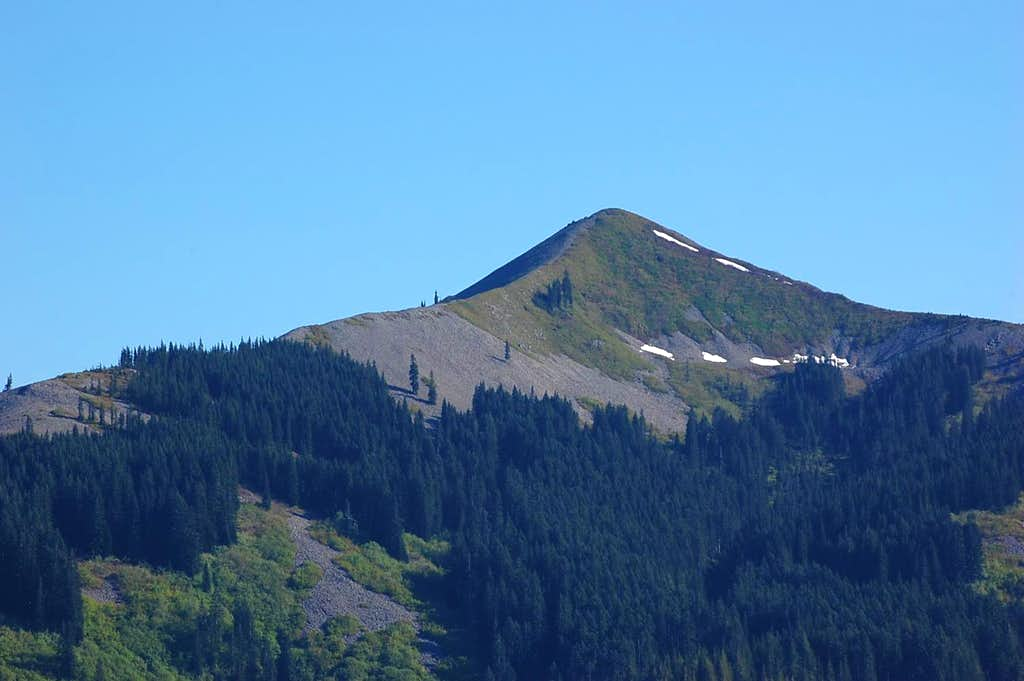NW face of Little Baldy