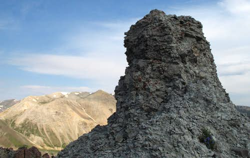 Rotten Breccia Tower