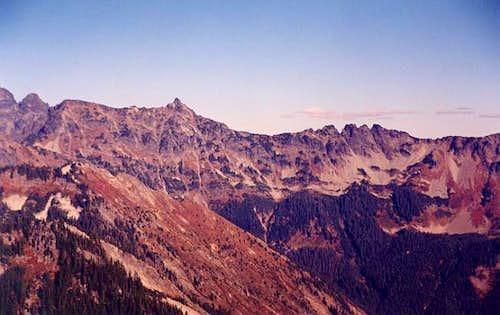 Chikamin Peak and Four...