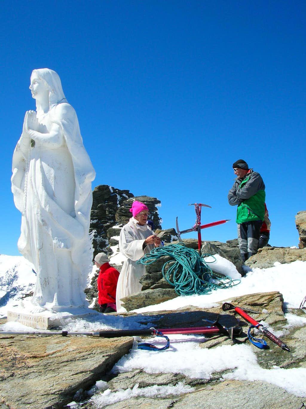 Holy Mass on the summit