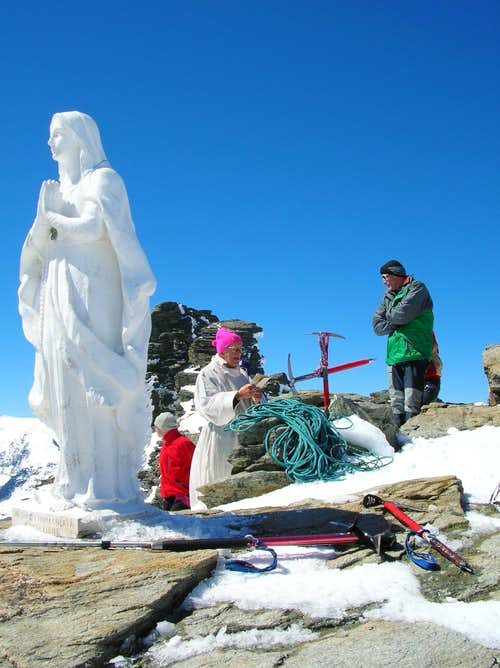 Holy Mass on the summit
