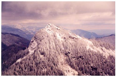 Tinkham Peak as seen from...