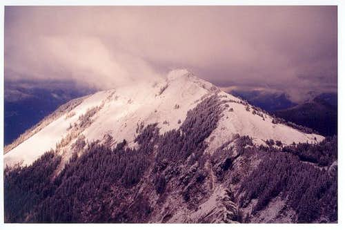 Silver Peak from Abiel Peak...