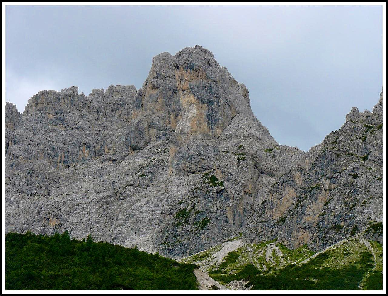 "Via ferrata ""Cassiopea"""