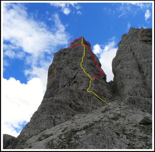 Via ferrata  Cassiopea