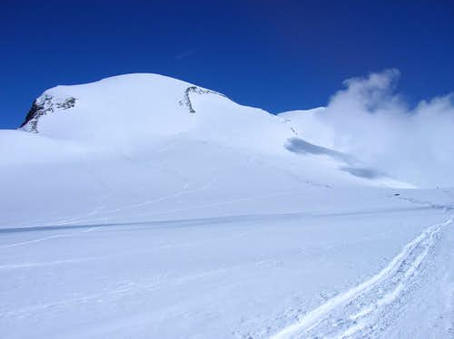 View from Breithorn Plateau