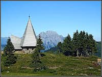 The chapel on Zollner Alm