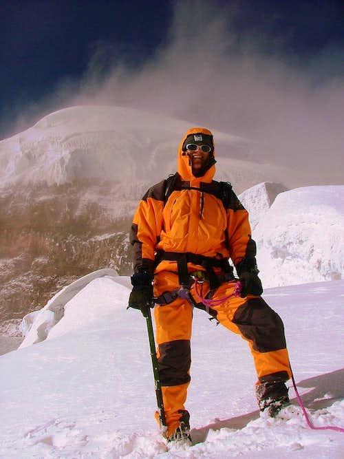 Yanasacha and the summit.