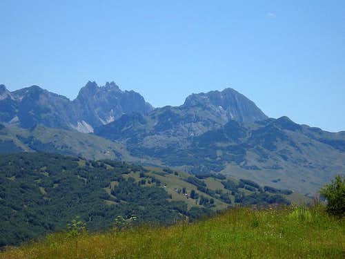 View to Durmitor...