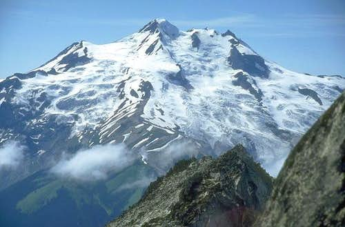 Glacier Peak from the east on...