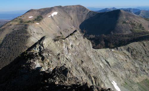 Avalanche Peak from Hoyt Peak
