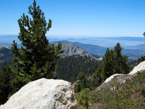 View SW from Wellman Divide