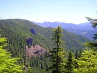 View into the Keith Creek Drainage
