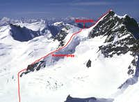 Souteast Ridge via Kranzbergegg (Normal)