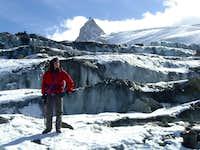 on the Rutor Glacier