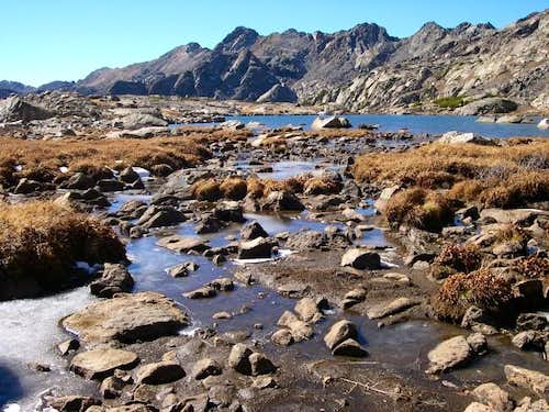 Seven Sisters Lakes Basin on...