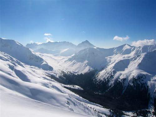 Panorama of Tatra Mountains from Kasprowy Wierch