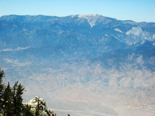 View North from Folly Pk (10,480\'), San Jacinto Wilderness