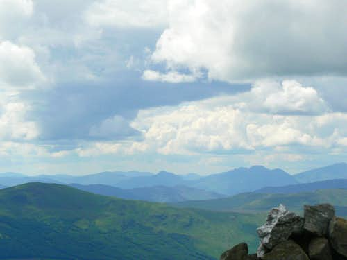 The Arrochar Alps (right) from Ben Vorlich