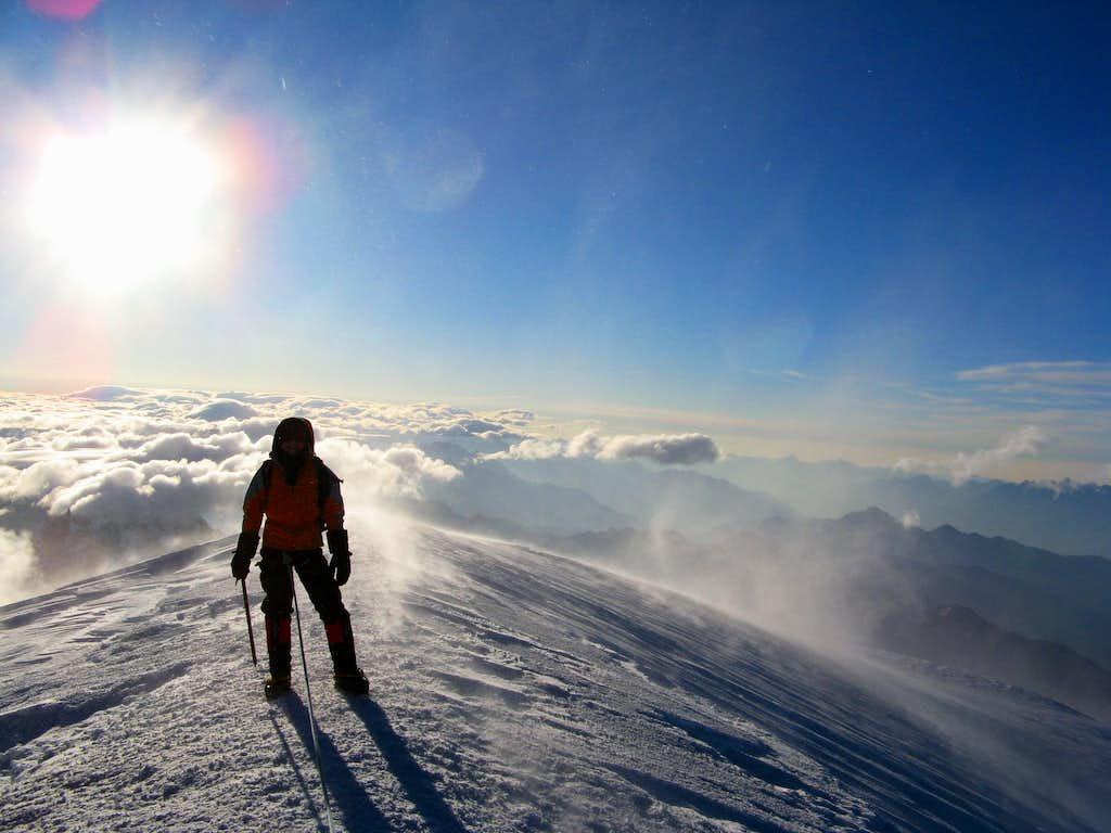 Summit of Mt Blanc