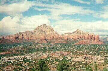 View from the Sedona Airport...