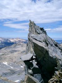 A Pinnacle on Northwest Ridge of Lyell