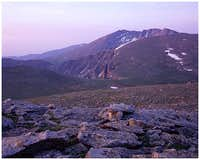 Mount Evans, Colorado Sunrise