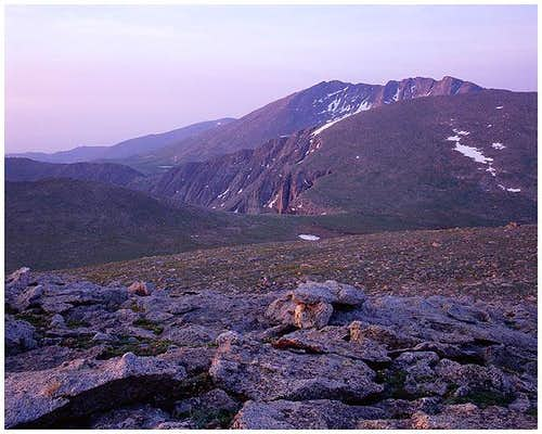 Mount Evans, Colorado Sunrise