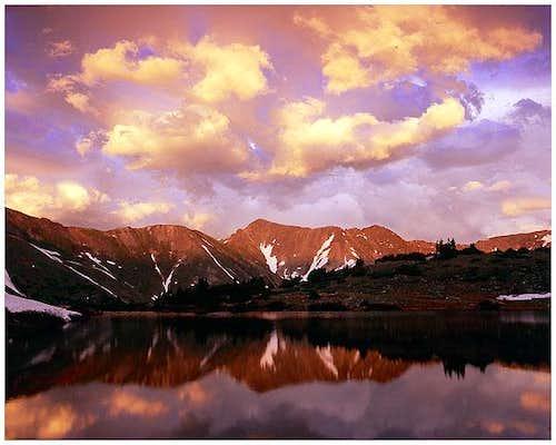 Grizzly Peak, Colorado Sunset