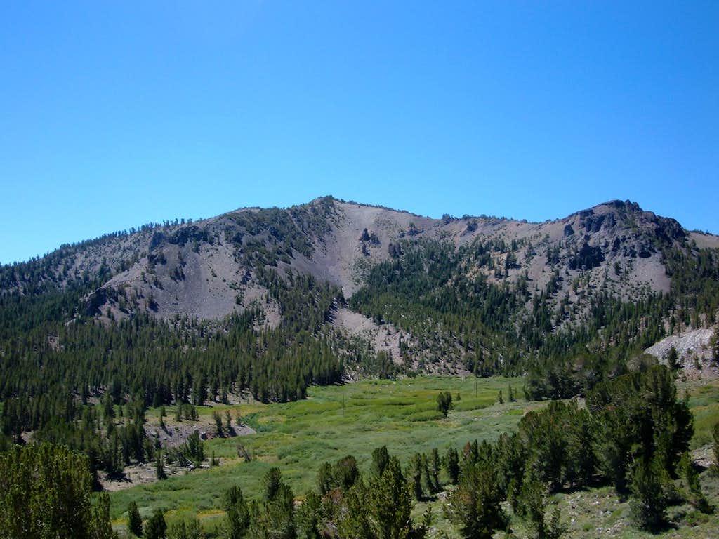 Tamarack Peak from near the Mount Rose summit