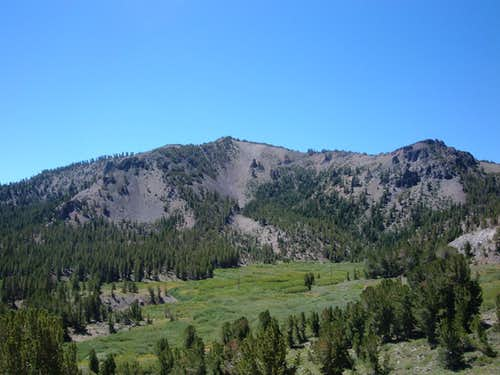 Tamarack Peak from near the Mount Rose summit