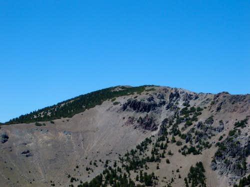 Zoom shot of Mount Houghton