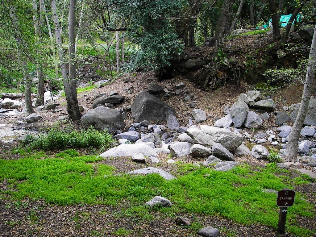 Millard Canyon Campground