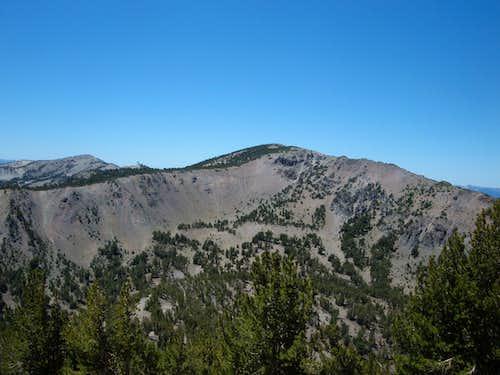 Relay Peak and Mount Houghton