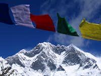 Lhotse as seen from Amphu Labsa pass