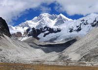 Lhotse as seen from the Hongu valley
