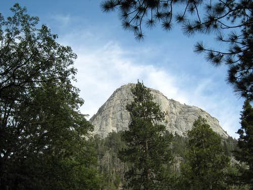 Tahquitz (Lily) Rock from Humber Park