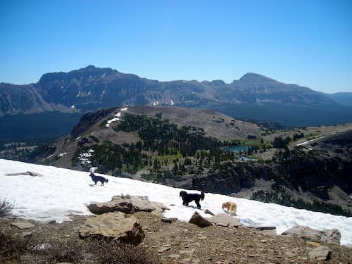 Cutthroat Peak and Lofty Lake Pass