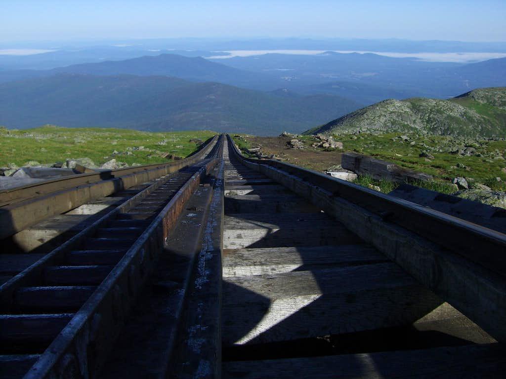 Tracks on Washington