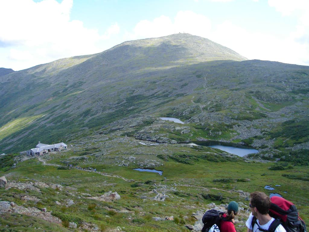 Looking back on Lake of the Clouds and Mt. Washington
