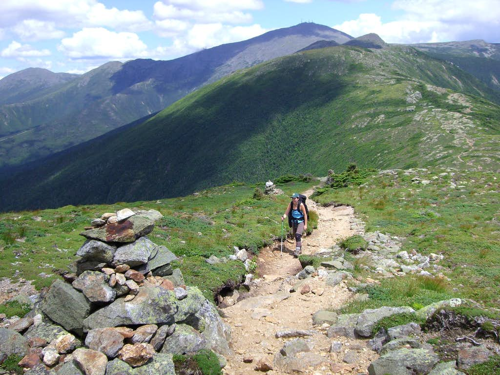Finishing southern end of Presidential Range